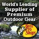 Baspro for fishing, camping and hunting equipment